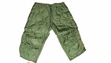 ARMY Military Surplus Green Trouser Hunting Pants Liner Cold Weather Large SR