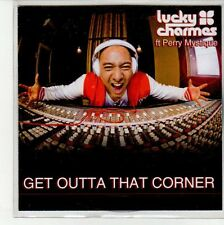 (EN698) Lucky Charmes ft Perry Mystique, Get Outta That Corner - DJ CD