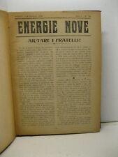 AA.VV., Energie Nove, n. 7-8, I serie; nn. 1-12 II serie