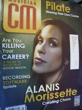 Canadian Musician Magazine July/August 2004 Alanis Morissette, Pilate