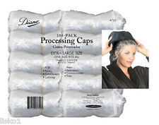 Diane D722 Shower, Bathing & Spa plastic hair  caps disposable and elastic