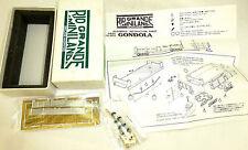 Gondola kit Joe Works r820 río grande mini país h0n h0e OVP Å √