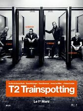 Pré Affiche Roulée 40x60cm T2 TRAINSPOTTING (2017) Danny Boyle - Mcgregor NEUVE