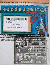 Eduard 1/48 FE772 Colour Zoom etch for the GWH F-15I Eagle kit