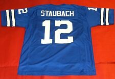 ROGER STAUBACH CUSTOM DALLAS COWBOYS THROWBACK B JERSEY