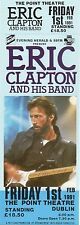 ERIC CLAPTON CONCERT TICKET1991 VINTAGE NEW FULLY DATED DUBLIN VALUABLE 26YRSGEM