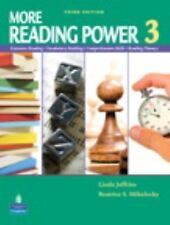 More Reading Power 3 Student Book (3rd Edition), Jeffries, Linda, Mikulecky, Bea
