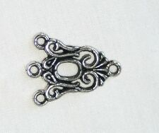 10x 3 to 1 Tibetan Silver Connectors / links for Jewellery/bracelets/earrings