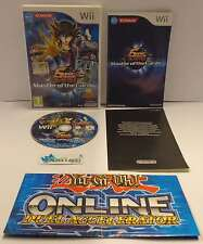 Console Game Gioco NINTENDO WII PAL ITALIANO - YU GI OH 5D'S MASTER OF THE CARDS