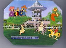 Disney Mary Poppins Carousel Horse Bert Penguin Hunted Fox Boxed 6 Pin Set & Tin