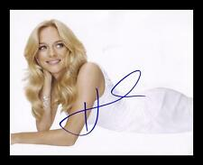 HEATHER GRAHAM AUTOGRAPHED SIGNED & FRAMED PP POSTER PHOTO