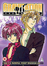 Gravitation Volume 1 Fateful First Encounter DVD New Factory Sealed Region 2
