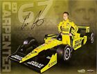 2011 ED CARPENTER signed INDIANAPOLIS 500 PHOTO CARD POSTCARD INDY CAR Honda wCA