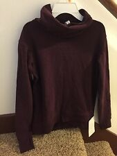 NWT Lululemon On The Double Pullover SZ 4 Heathered Bordeaux HBRD READ SHIP