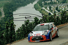 Robert KUBICA & Maciek BARAN SIGNED AUTOGRAPH 12x8 WRC Rally Photo AFTAL COA