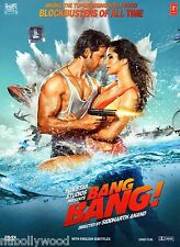 BANG BANG! *HRITHIK ROSHAN* - ORIGINAL BOLLYWOOD DVD - FREE POST
