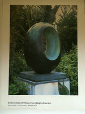 BARBARA HEPWORTH, large lithographic poster, 2003