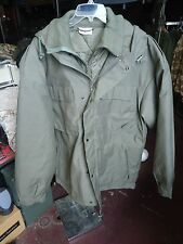 New German, military surplus, green winter parka and liner