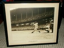 1953 TED WILLIAMS Original Large Format Photo--HR in Cleveland--From Ted Himself
