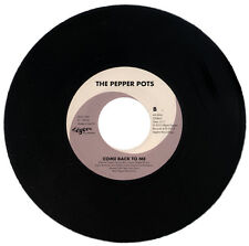 """THE PEPPER POTS  """"COME BACK TO ME""""   CLUB / NORTHERN SOUL    LISTEN!"""