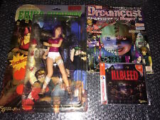 ILLBLEED Brand New Sealed FIGURE ERIKO & Game & Magazine Sega DREAMCAST Japan Jp