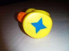 Lucky Ducks Sesame Street Ernie Ed REPLACEMENT PART PIECE DUCK BLUE DIAMOND STAR