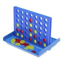 Mini Connect 4 in a Row Chess Game Set Parent Kids Home Family Party Playset