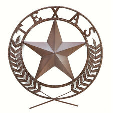 Texas Lone Star State Hanging Western Theme Wall Plaque