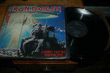 "7594 Iron Maiden 2 Minutes To Midnight 12"" Single Buy 5 Records For £6 Postage"