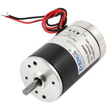 Generic 24V 3000RPM 5mm Shaft Dia Permanent Magnetic Speed Reduce DC Motor B4M7