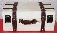 "DECORATIVE BOX  Looks Like Trunk  9"" x 6"" x 3.5"" that opens as  decorative item"