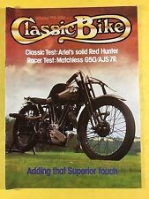 CLASSIC BIKE - WINTER 1979 - Matchless G50 - AJS 7R - Borough Superior SS100