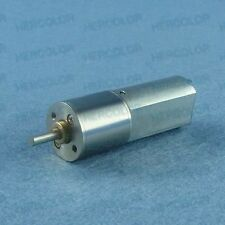 12V DC 500RPM Replacement Powerful Torque Gear Box Motor New