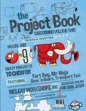 The Project Book Cartooning 2 by Rob Mcleay (2013, Paperback)