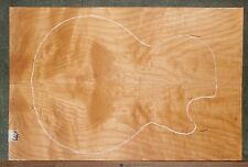 Curly Maple Wood #6664 Luthier Electric Guitar Top Set 22+ x 15-- x 3/8