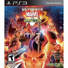 Ultimate Marvel vs. Capcom 3 [PlayStation 3 PS3, Arcade Fighting Video Game] NEW
