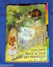 Lewis Carroll / Alice au pays des merveilles / folio édition spéciale avec jeux