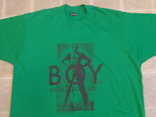 vtg 80s/90s BOY OF LONDON man standing T-SHIRT XL punk THIN seditionaries ltd