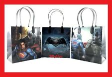 12pcs Batman vs Superman Super Hero Birthday Party Favor Goodie Gift candy Bags