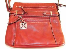 Giani-Bernini Leather shoulder/Cross body bag and Wallet