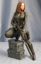 "Gentle Giant Black Widow Winter Soldier 9"" Statue 407/1100 Ltd Edition Marvel"