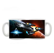 Star Trek, Space, Enterprise, Birthday Christmas Gift Mug Size 11oz