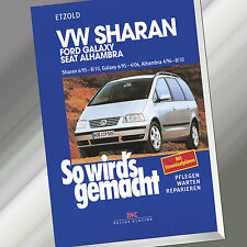 So wirds gemacht (Band 108) | VW SHARAN / FORD GALAXY / SEAT ALHAMBRA (Buch)