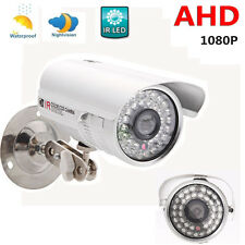 CCTV 1080P AHD Camera 2.0MP HD Analog 36IR Night Vision Outdoor Security System