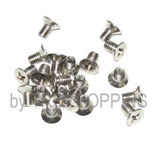 20-SS M6 X 10MM PFH PHILLIPS FLAT HEAD MACHINE SCREWS METRIC STAINLESS STEEL 6MM
