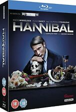 HANNIBAL - SEASON 1 & 2 - (8 DISC BLU-RAY BOX SET) - REGION B / NEW & SEALED
