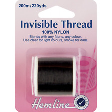 Dobladillo 200m invisible Humo De Rosca 100% nylon Costura