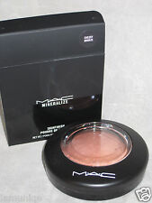 NIB LED MAC MINERALIZE SKINFINISH CHEEKY BRONZE, LIMITED EDITION