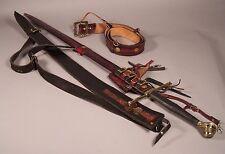 Replica Schloss Erbach Arming Sword circa 1500 German with 2 Custom Scabbards