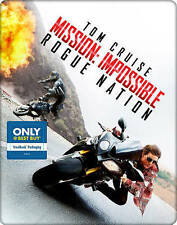 Mission: Impossible - Rogue Nation (Blu-ray/DVD, STEELBOOK) BRAND NEW